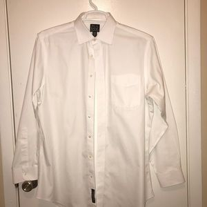 Jos. A. Bank White Tailored Shirt 16/34